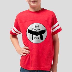 3rd dan black belt 2011 Youth Football Shirt