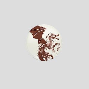 Dragon, Fantasy, Art, Cool Mini Button