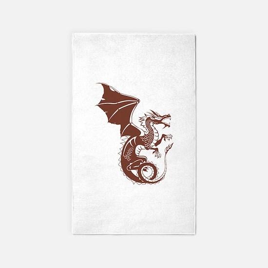 Dragon, Fantasy, Art, Cool 3'x5' Area Rug