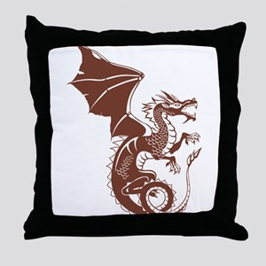 Dragon, Fantasy, Art, Cool Throw Pillow