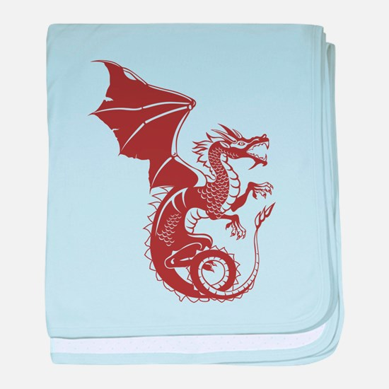 Dragon, Fantasy, Art, Cool baby blanket