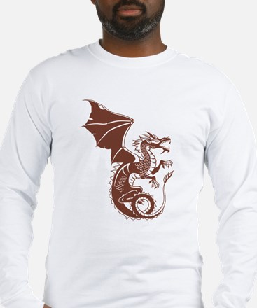 Dragon, Fantasy, Art, Cool Long Sleeve T-Shirt