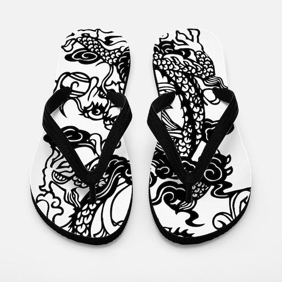 Dragon, Fantasy, Art, Cool Flip Flops