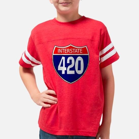420 Youth Football Shirt