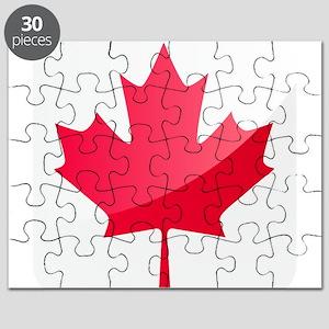 Canada, Flag, Canadian, Maple Leaf Puzzle