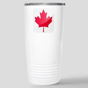Canada, Flag, Canadian, Maple Leaf Travel Mug