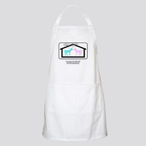 This is not my beautiful house horse Apron