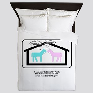 This is not my beautiful house horse Queen Duvet