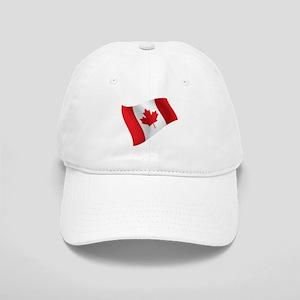 Canada, Flag, Canadian, Maple Leaf Baseball Cap