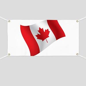Canada, Flag, Canadian, Maple Leaf Banner