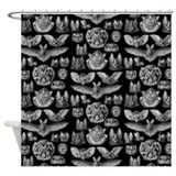 Bat Shower Curtains