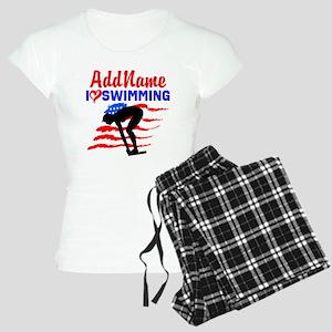 SWIMMER GIRL Women's Light Pajamas