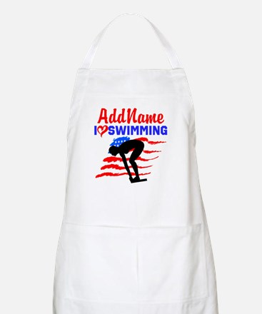 SWIMMER GIRL Apron