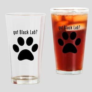 got Black Lab? Drinking Glass