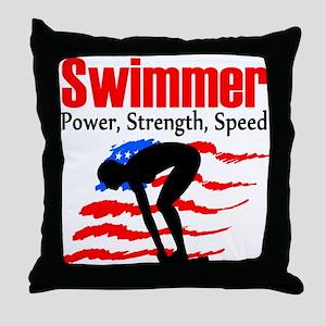 BORN TO RACE Throw Pillow
