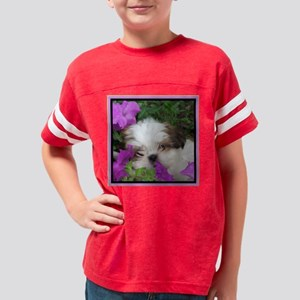 shihtzupillow2 Youth Football Shirt