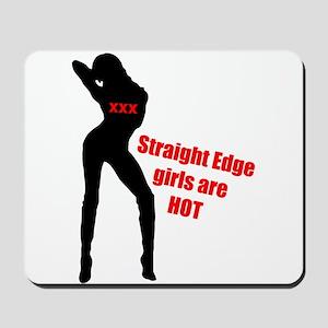 Hot Edge Girl Mousepad