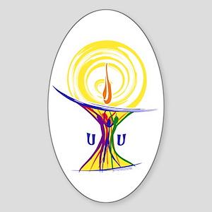 UU Unity Chalice Sticker