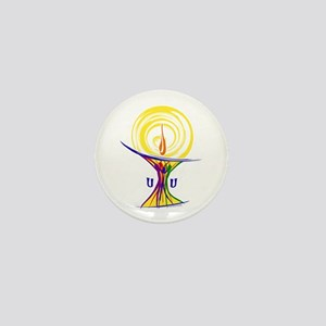 UU Unity Chalice Mini Button