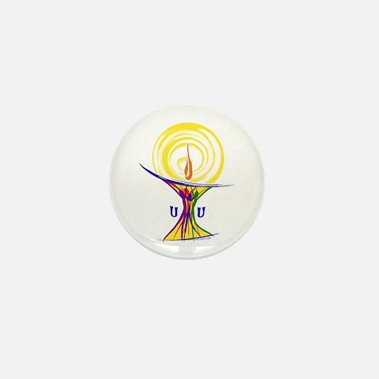 UU Unity Chalice Mini Button