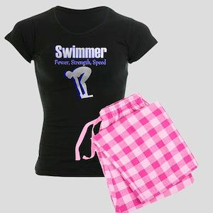 AMAZING SWIMMER Women's Dark Pajamas