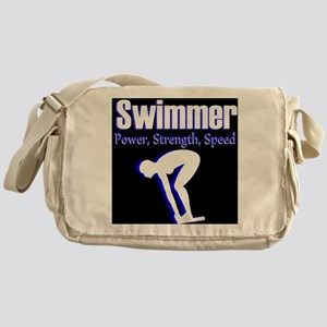 AMAZING SWIMMER Messenger Bag