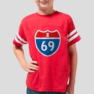 +i69 Youth Football Shirt