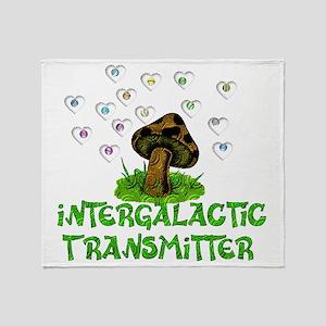 Intergalactic Transmitter Throw Blanket