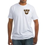 32nd degree brown eagles Fitted T-Shirt