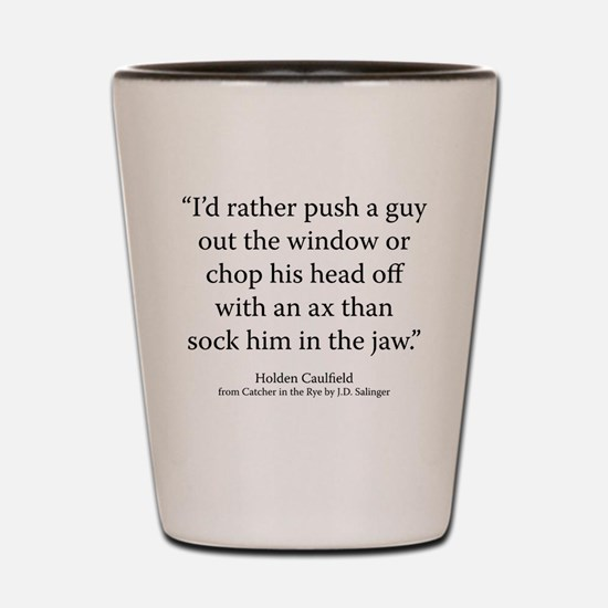 The Catcher in the Rye Ch Shot Glass
