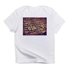 Tea Party Text Infant T-Shirt