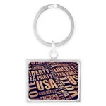 Tea Party Text Keychains