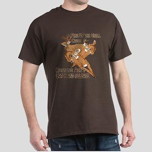 Fire Up the Grill Dark T-Shirt