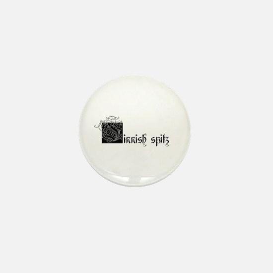 [F]innish Spitz Mini Button