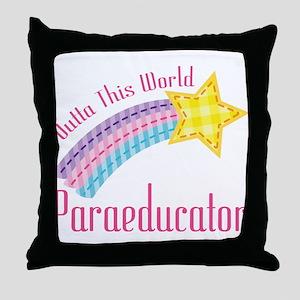 Outta This World Paraeducator Throw Pillow
