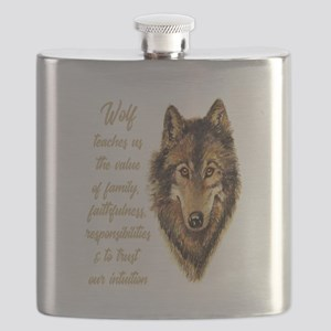 Wolf Totem Animal Spirit Guide for Inspiration Fla