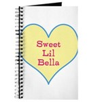 Sweet Lil Bella Heart Journal