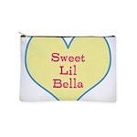 Sweet Lil Bella Heart Makeup Pouch