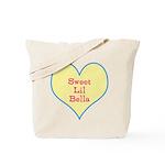 Sweet Lil Bella Heart Tote Bag