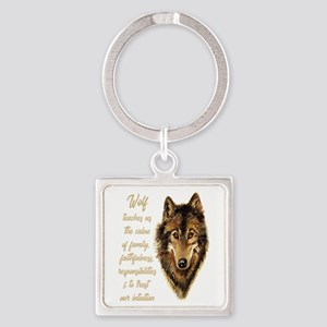Wolf Totem Animal Spirit Guide For Keychains
