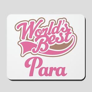 Worlds Best Para Mousepad