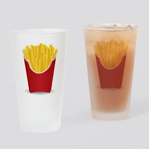 French Fries Drinking Glass