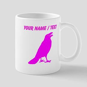 Custom Pink Crow Mugs