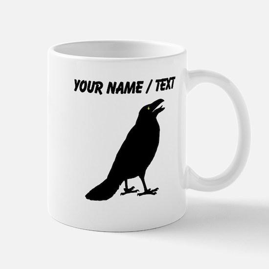 Custom Black Crow Mugs