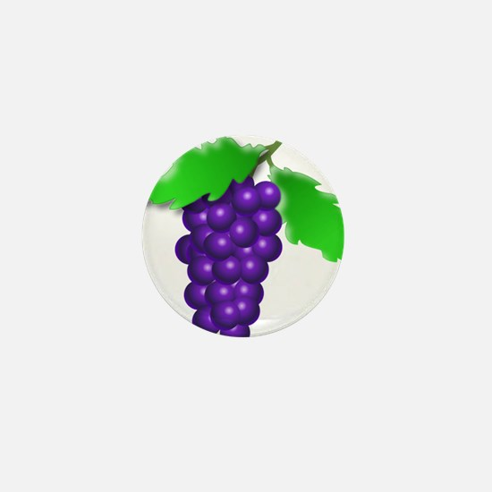 Grapes Mini Button