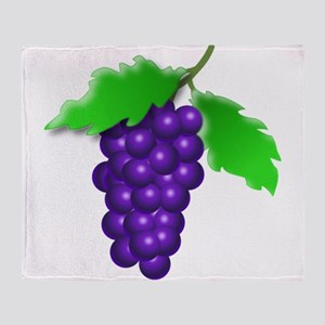Grapes Throw Blanket