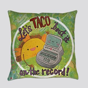 Taco'BoutIt_painted Everyday Pillow
