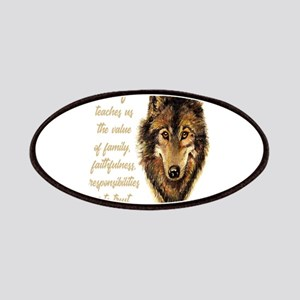 Wolf Totem Animal Spirit Guide for Inspirati Patch