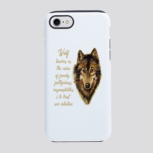 Wolf Totem Animal Spirit Guide iPhone 7 Tough Case