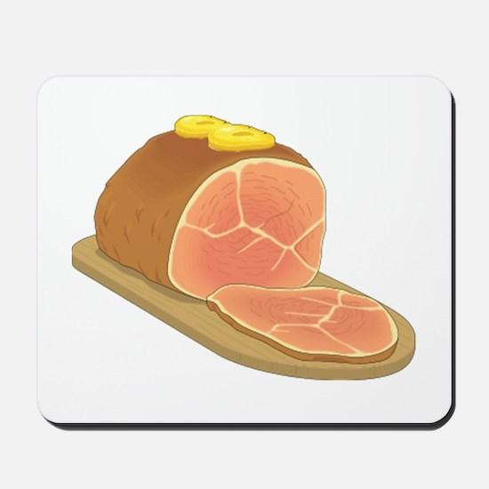 Sliced Ham Mousepad